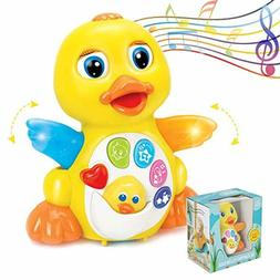 6 Months Old Toys Toddler Age 1 2 3 Duck Musical Toy Baby In
