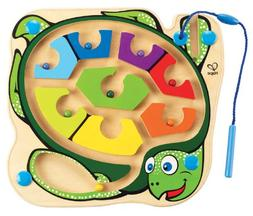 Hape Colorback Sea Turtle Magnetic Toddler Wooden Maze Puzzl