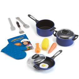 Learning Resources Top-Chef Kitchen Pretend Chef Play Set, 1