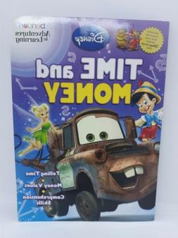 Bendon Adventures in Learning Disney Time and Money Workbook