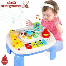 HOMOFY Baby Toys Musical Learning Table 6 Months Up- Early E
