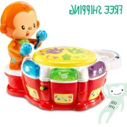 VTech Baby Beats Monkey Drum learning baby toddler toy music