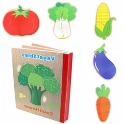 Book Puzzle for Toddlers Educational Early Learning Toys : V