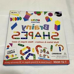 brainy shapes learning toy set home school