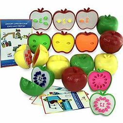 Counting Toddler Games - STEM Apple Factory Learning Toys Fo