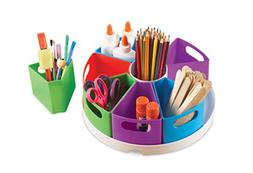 Learning Resources Create-a-Space Storage Center, Bright Col