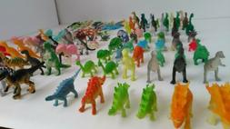 Dinosaur Learning Toys 104 Piece Little Tiny Small Figures M