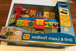 Vtech Drill Toys Toolbox Learn Toddler Kids Electronic Educa