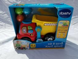Vtech Drop and Go Dump Truck Toy Ages 6-36 Months Learn Colo