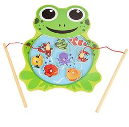Educational Learning Fishing Game Puzzle Toy Frog for Toddle