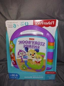 Fisher Price Laugh Learn Storybook Music Rhymes Book Songs T