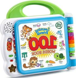 Green Interactive LeapFrog Learning Friends 100 Words Book E