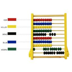 Kids Gooden Bead Abacus Counting Frame Educational Learn Mat