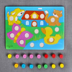 Learning Educational Toys Interesting Wooden Toys Kids Carto