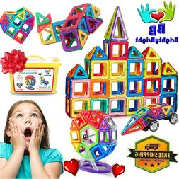 Kids Magnets Play Set Toys for 3 4 5 6 7 8 9 10 Year Old Boy