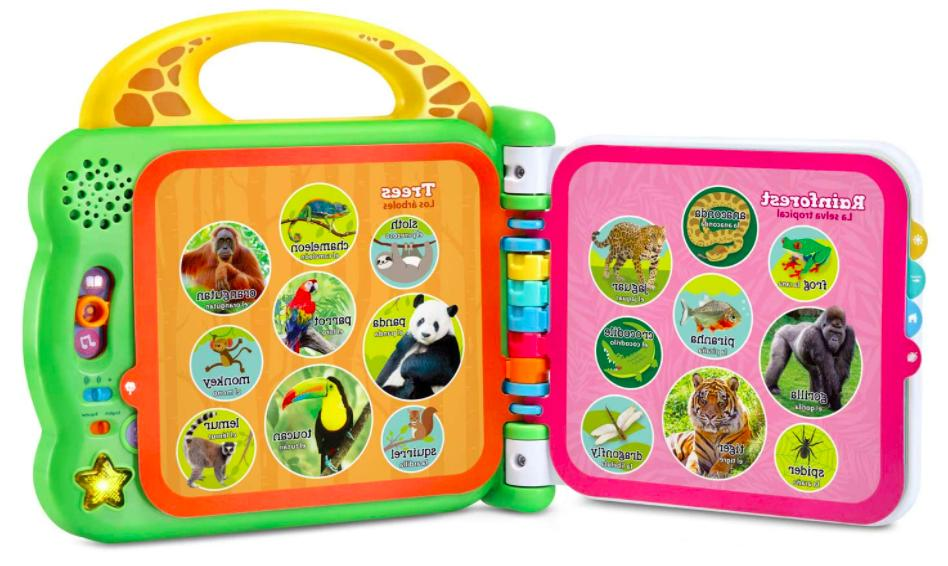 LeapFrog Animals Bilingual & Book NEW