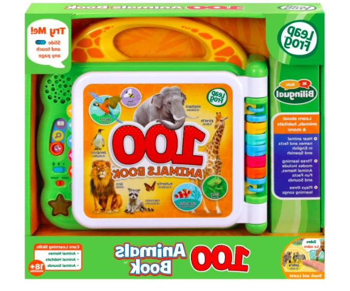 100 animals interactive bilingual and learning words