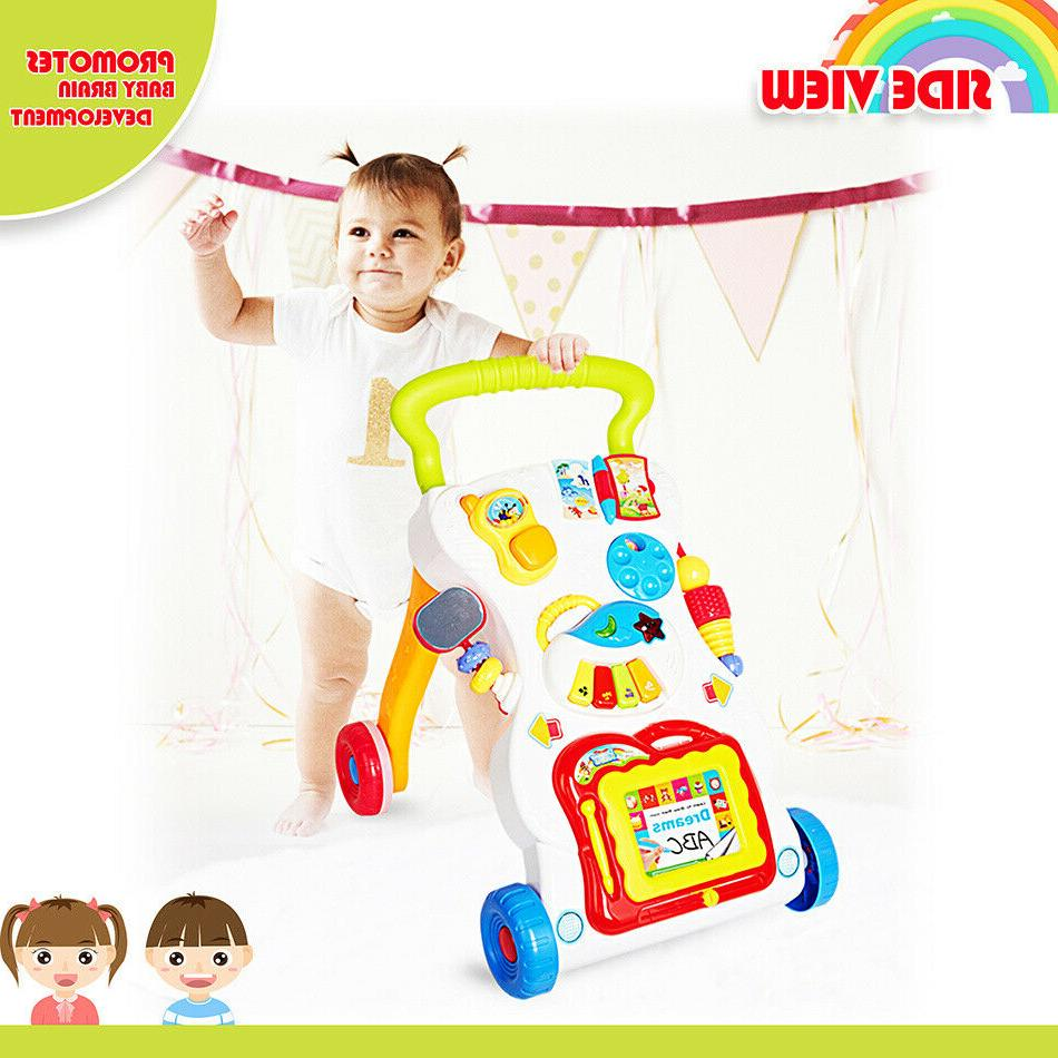 to Stand Learning Baby Walker Push Pull Toys