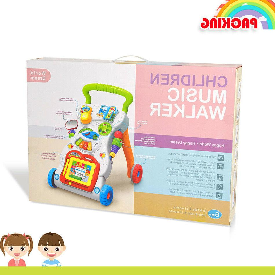3-in-1 to Stand Baby Push Toys