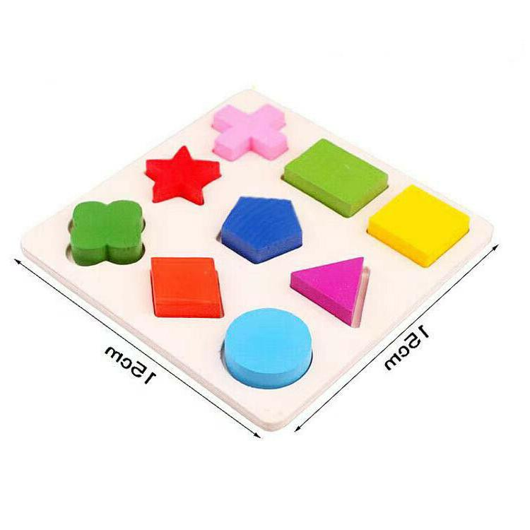 3 Puzzle Toys Shapes Early