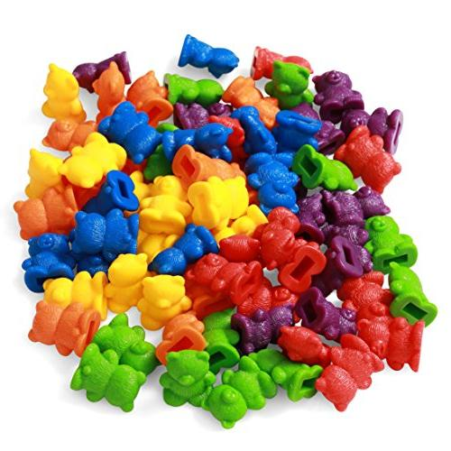 72 Bears with for Learning STEM Mathematics, Counting Toys
