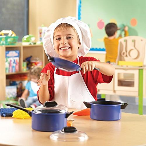 Learning Resources Top-Chef Pretend Chef Play 13