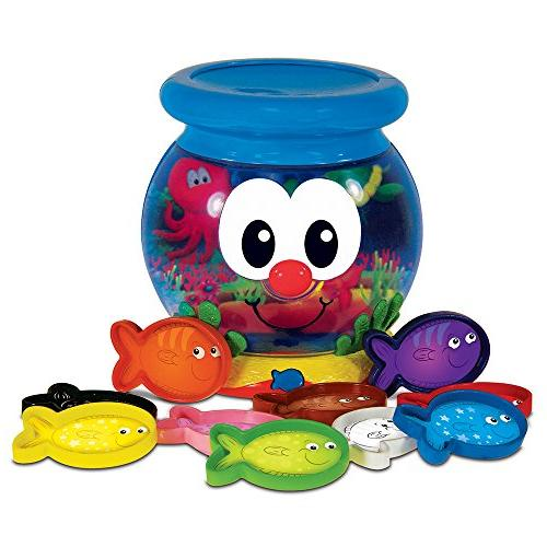 The Learning Journey Learn with Me, Color Fun Fish Bowl