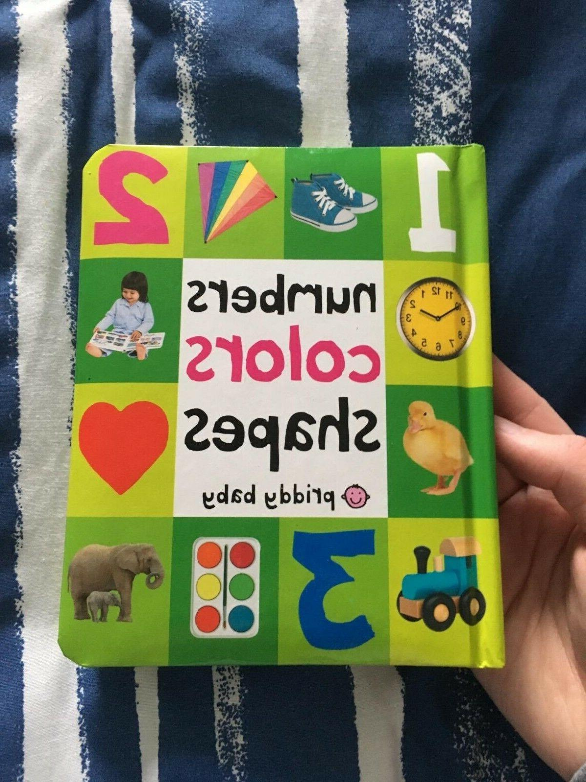 Toddler Learning Book Board