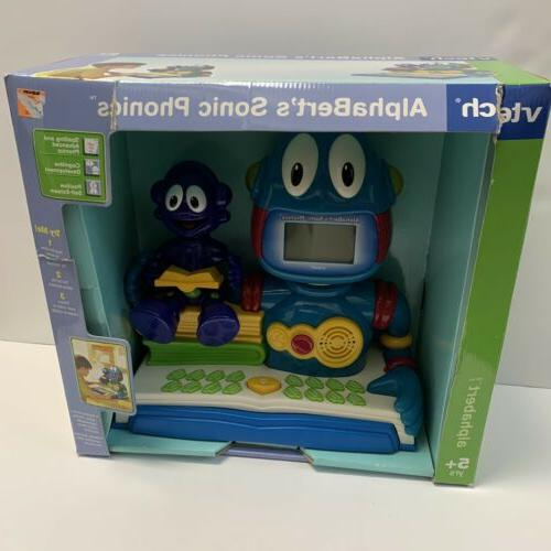 alphaberts sonic phonics electronic learning game toy
