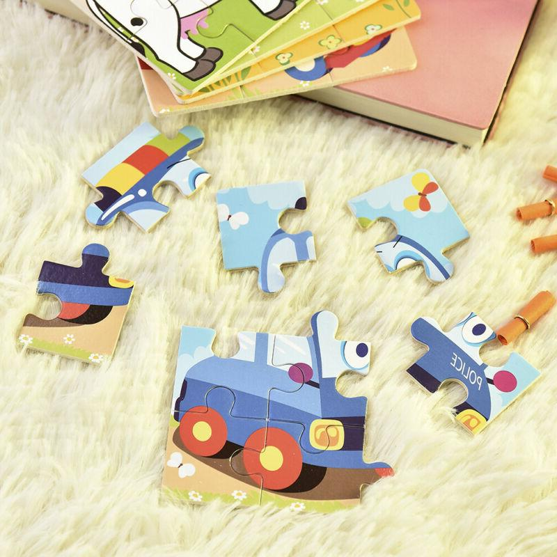 Baby Kids Toys Wooden Puzzle Educational Toy