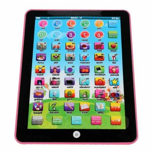 Baby Tablet Girls Toy Year English