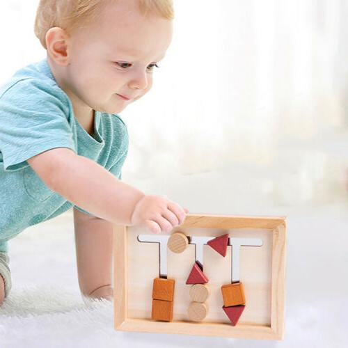 Baby Montessori Material Matching Game Childhood Education Toy