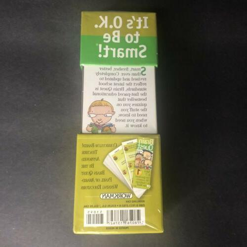Brain Quest Grade 750 for Ages 6-7 NEW 3rd edition
