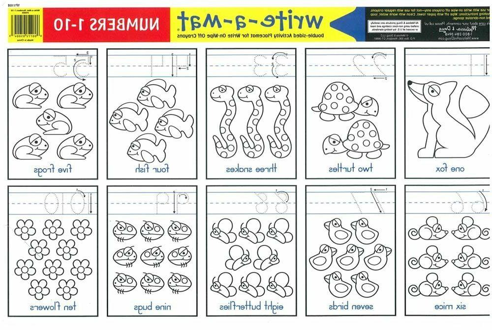 Melissa Learning Placemats 1-10