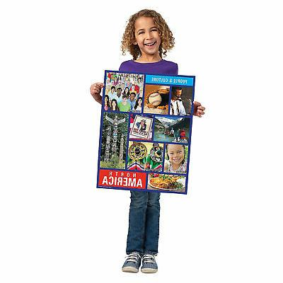 Continents - Educational - 28 Pieces