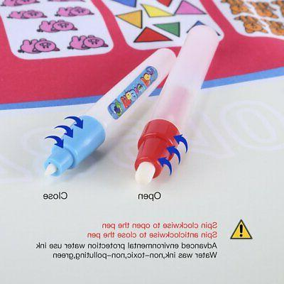Drawing Water Doodle Mat Board Kids Boy Girl Learning Toy