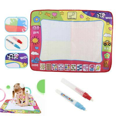 drawing water pen painting doodle mat board