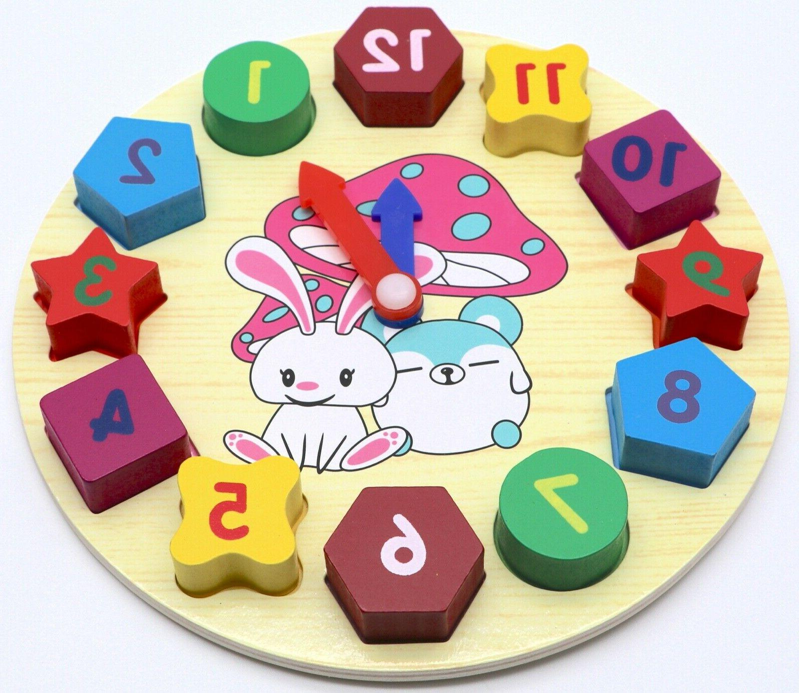 Educational Learning Puzzle Toy Baby Kids