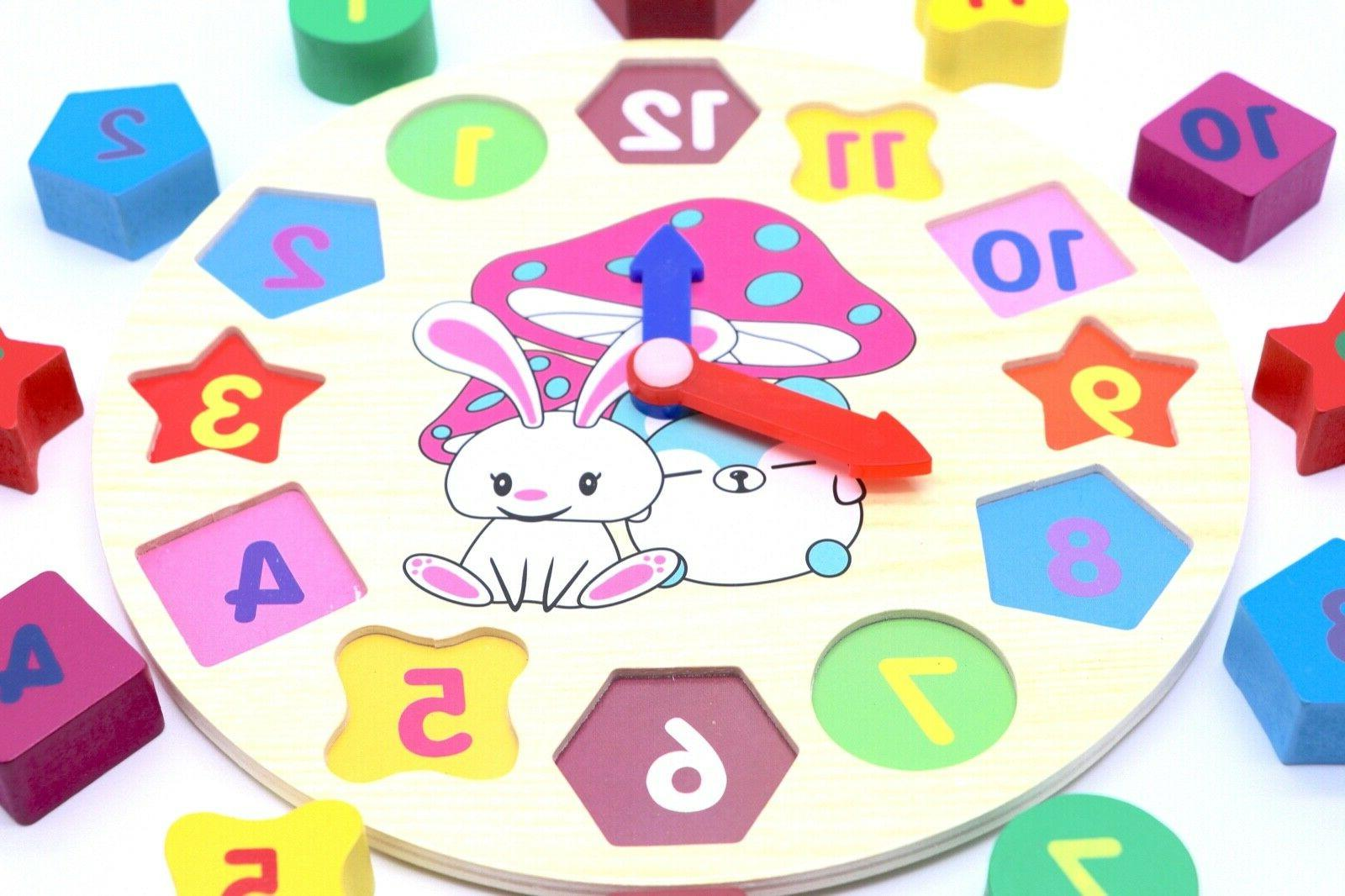 Educational Sorting Puzzle Toy for Baby Kids