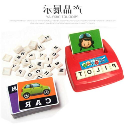 Educational Toys Matching Letter Spelling Words Game Gift