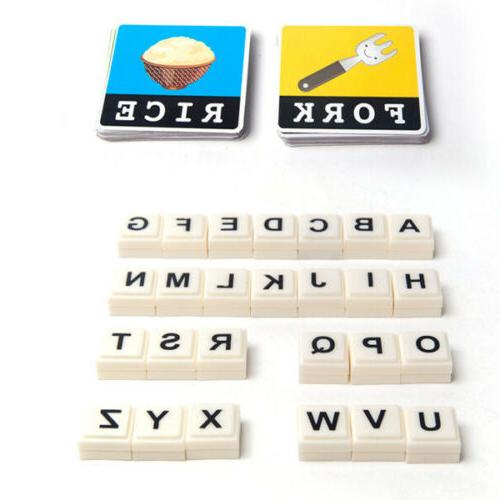 Educational Toys Matching Spelling Game