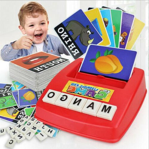 educational learning toys english matching letter spelling