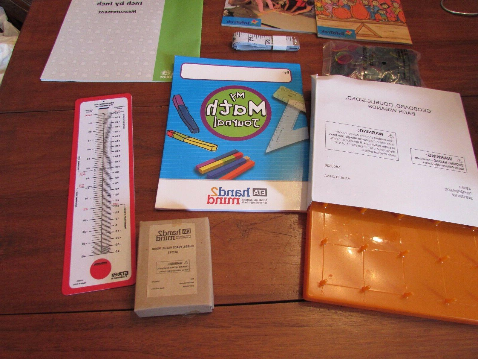 ETA Grade Math Inch Learning Family Kit Home