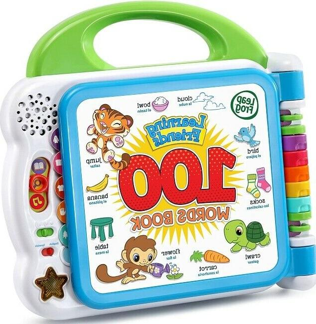 green interactive learning friends 100 words book