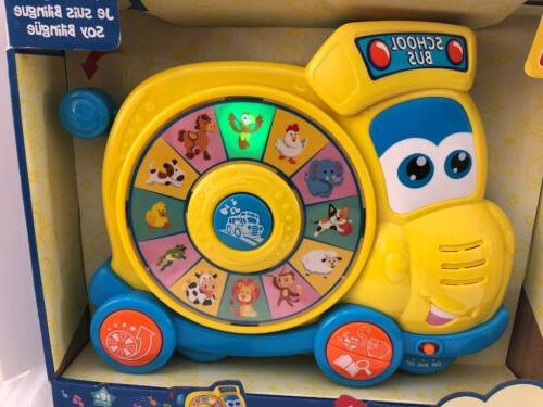 Hap-p-kid Learner Spin Learn Bus Spanish