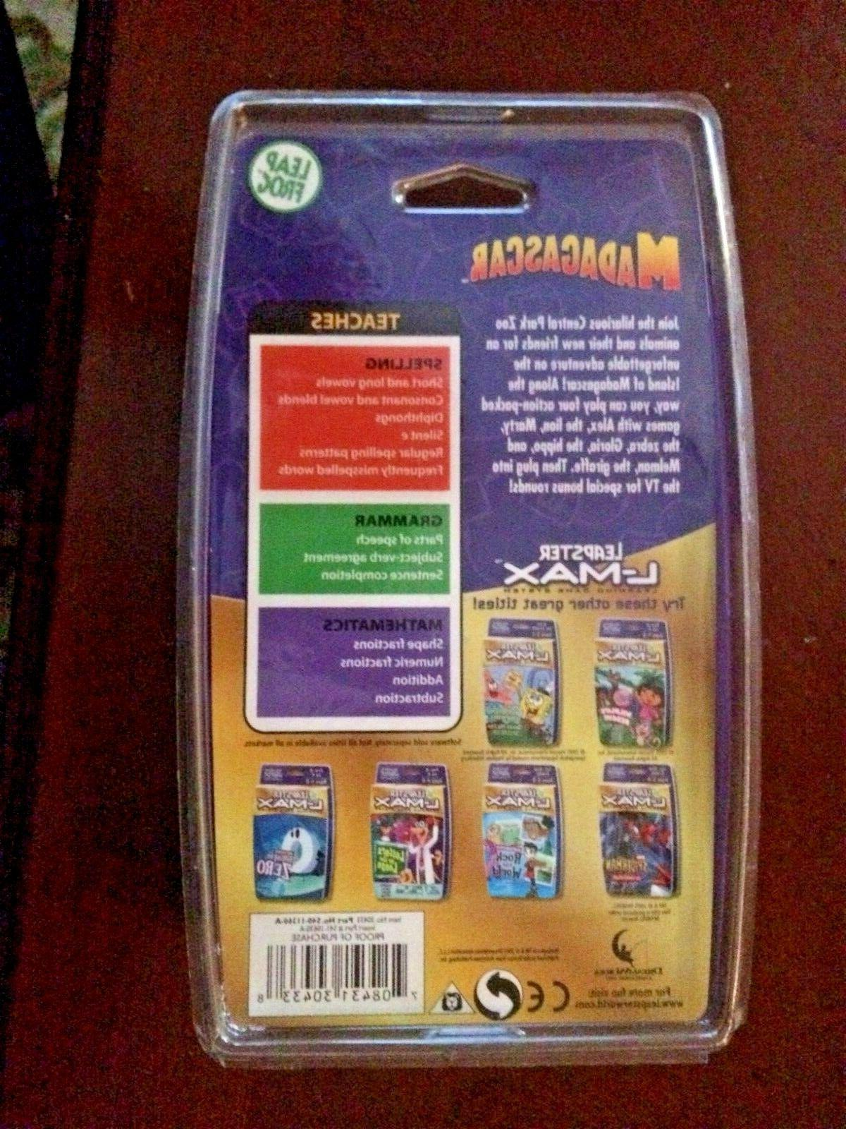 LeapFrog L-Max Learning Game System Cartridge Ages