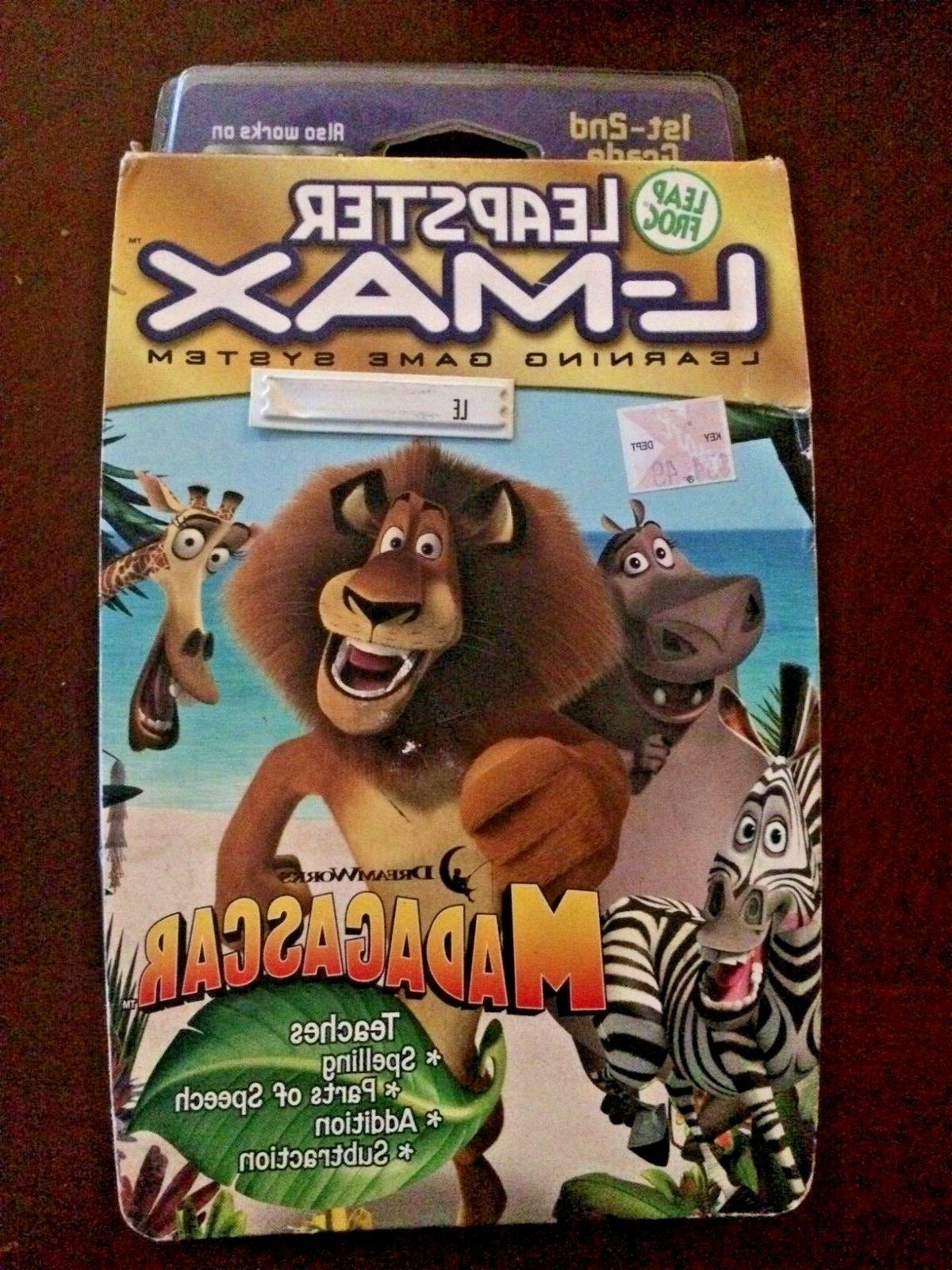 leapster l max learning game system cartridge