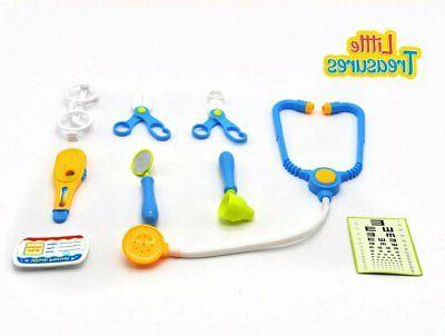 learning dr checkup pretend play toy kit