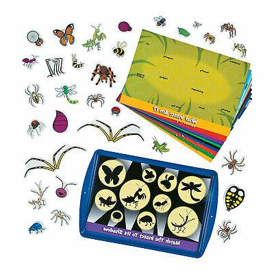 learning insects magnetic activity set educational 1