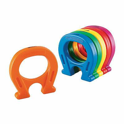 learning resources primary science horseshoe shaped magnets